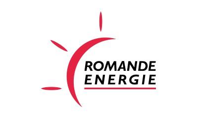 Logo: Romande énergie.