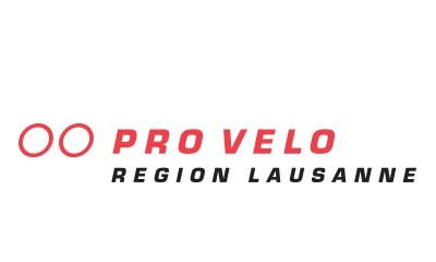 Logo: Pro vélo Lausanne.