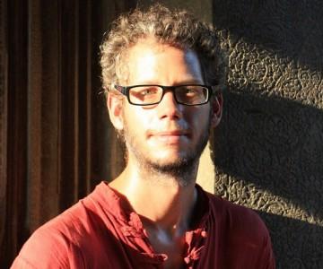 Jonas Mayor, membre du Comité de L'Association romande pour le voyage à vélo