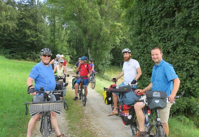 1ère promenade cyclotouriste