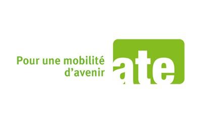 Logo: ATE.