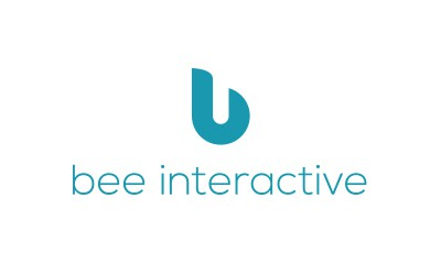 Logo: Bee Interactive.